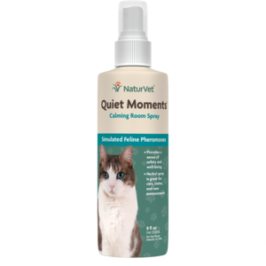Naturvet Quiet Moments Calming Spray for Cats