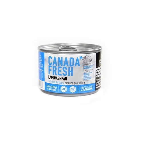 Canada Fresh Lamb Wet Dog Food 6.5oz