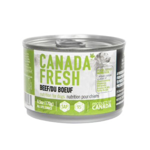 Canada Fresh Beef Wet Dog Food 6.5oz