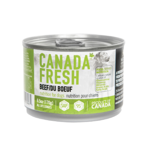 Canada Fresh Beef Wet Dog Food 6.5oz - each