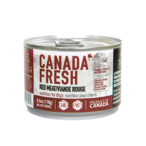 Canada Fresh Red Meat Wet Dog Food 6.5oz - each
