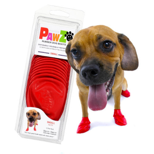 Pawz Dog Boots - Small Red