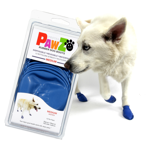 Pawz Pawz Dog Boots - Medium Blue