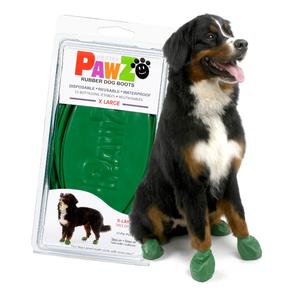 Pawz Dog Boots - X Large Dark Green