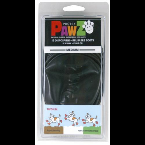 Pawz Dog Boots - Large Black