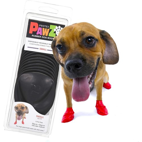 Pawz Dog Boots - Small Black