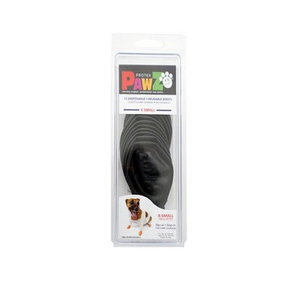 Pawz Dog Boots - X Small Black
