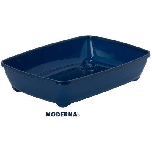 Deep Pan Large Litter Box - Blueberry