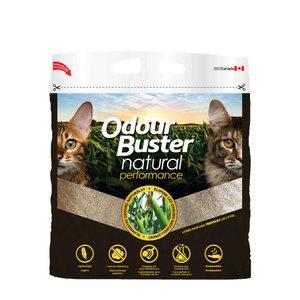Odour Buster Clumping Natural Corn Cat Litter 6.4kg bag