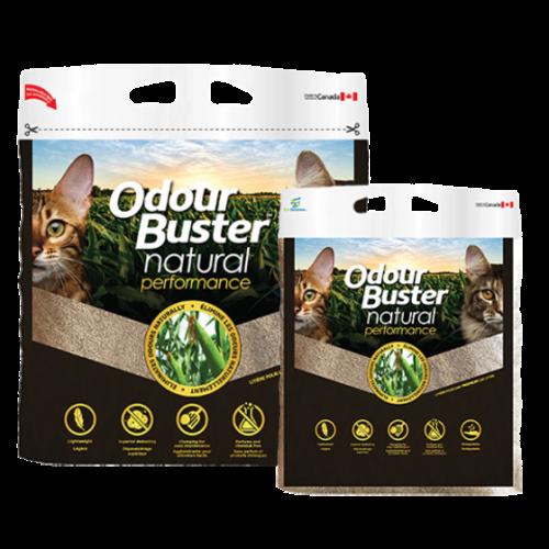 Odour Buster Clumping Natural Corn Cat Litter 12kg bag