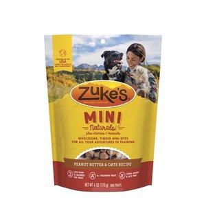 Zukes Mini Naturals Peanut Butter Dog Treat 6oz