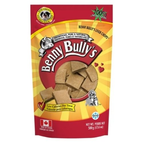 Benny Bully's Freeze Dried Liver Chops 500g