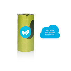 Earth Rated Poop Bags Single Roll Unscented - each