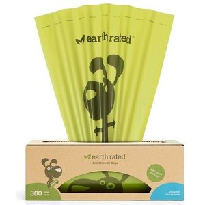 Earth Rated Poop Bags Box Roll Unscented 300ct