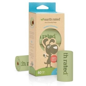 Earth Rated Poop Bags Compostable 60ct