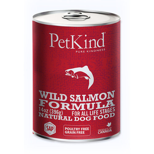 PetKind Wild Salmon Wet Dog Food 13oz - each