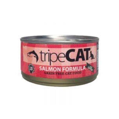 Salmon Tripe Wet Cat Food 5.5oz -each