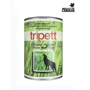 Tripett Green Beef Tripe Wet Dog Food 14oz - each
