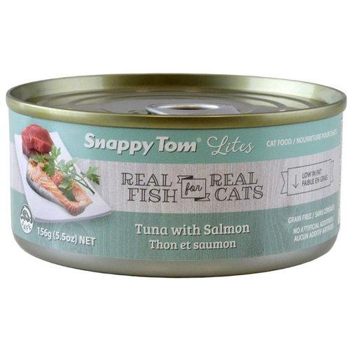 Snappy Tom Lites Tuna w/ Salmon Wet Cat Food 85g