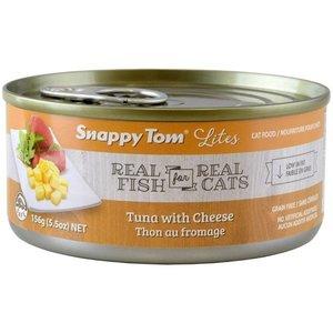 Snappy Tom Lites Tuna w/ Cheese Wet Cat Food 85g