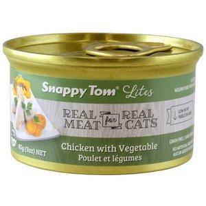 Snappy Tom Lites Chicken w/ Vegetables Wet Cat Food 85g