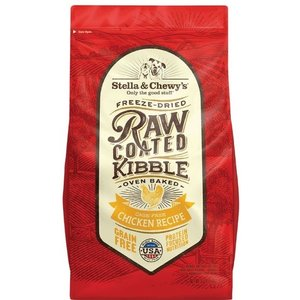 Stella & Chewy's Raw Coated Kibble Chicken Dry Dog Food 3.5lb