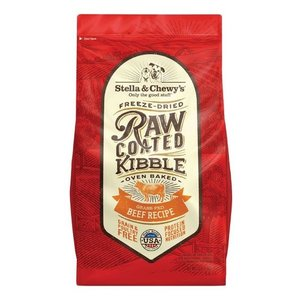 Stella & Chewy's Raw Coated Kibble Beef Dry Dog Food 3.5lb