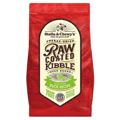 Stella & Chewy's Raw Coated Kibble Duck Dry Dog Food 3.5lb