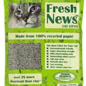 Fresh News Premium Paper Cat Litter 12lb