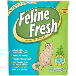 Feline Fresh Feline Fresh Pine Pellet Cat Litter 9kg
