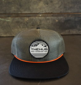 The Hub C54 Full Mesh Hub Embroidered Patch - MORE COLORS