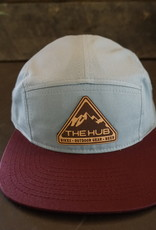 The Hub C19 Hub Pyramid Leather Patch -