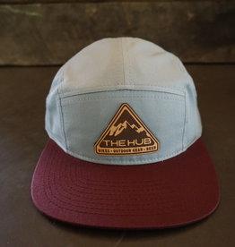 The Hub C19 Hub Pyramid Leather Patch -