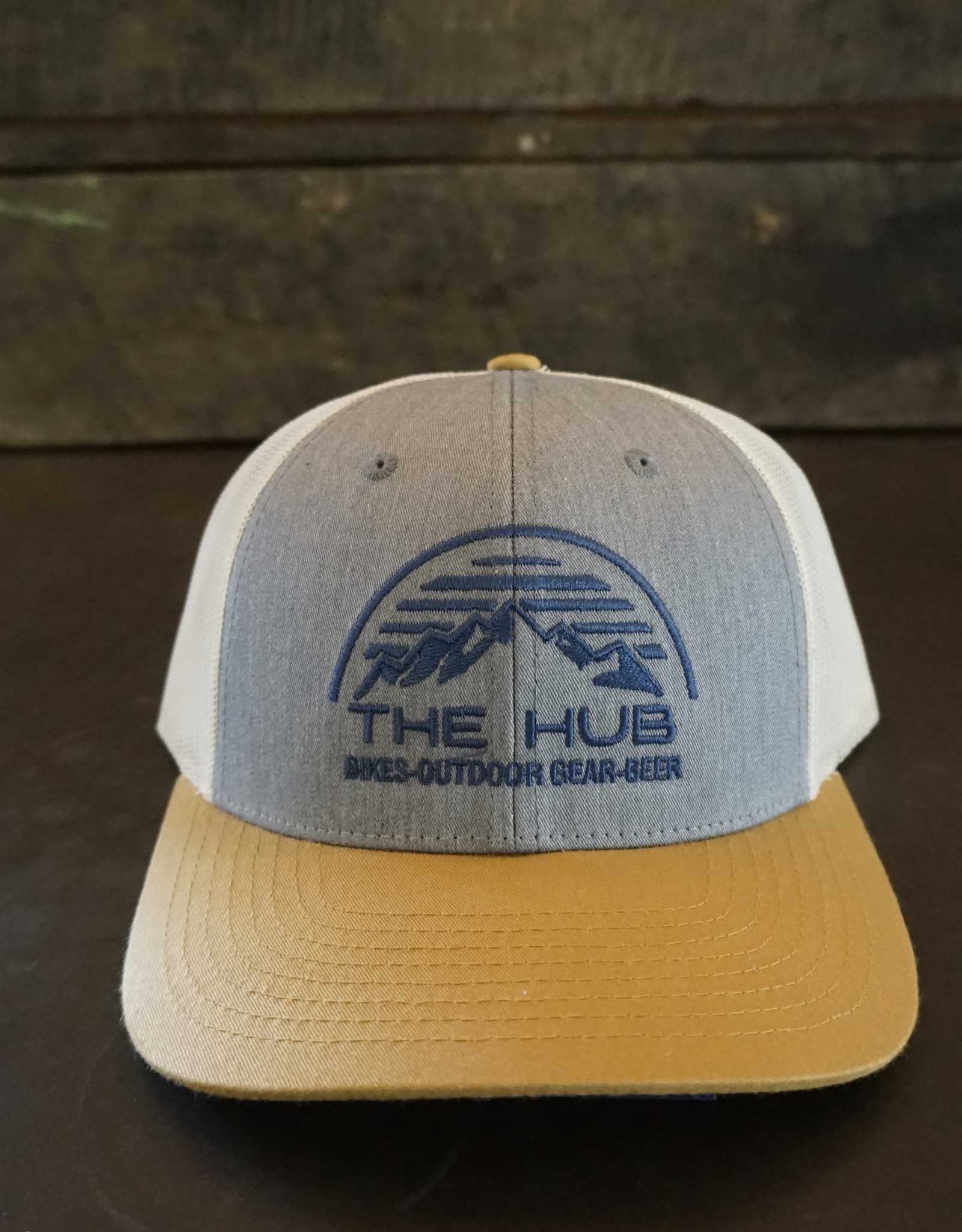 The Hub 115 Hub Dome Logo Embroidery -