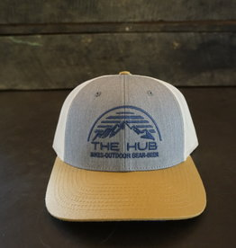 The Hub 115 Hub Dome Logo Embroidery - MORE COLORS
