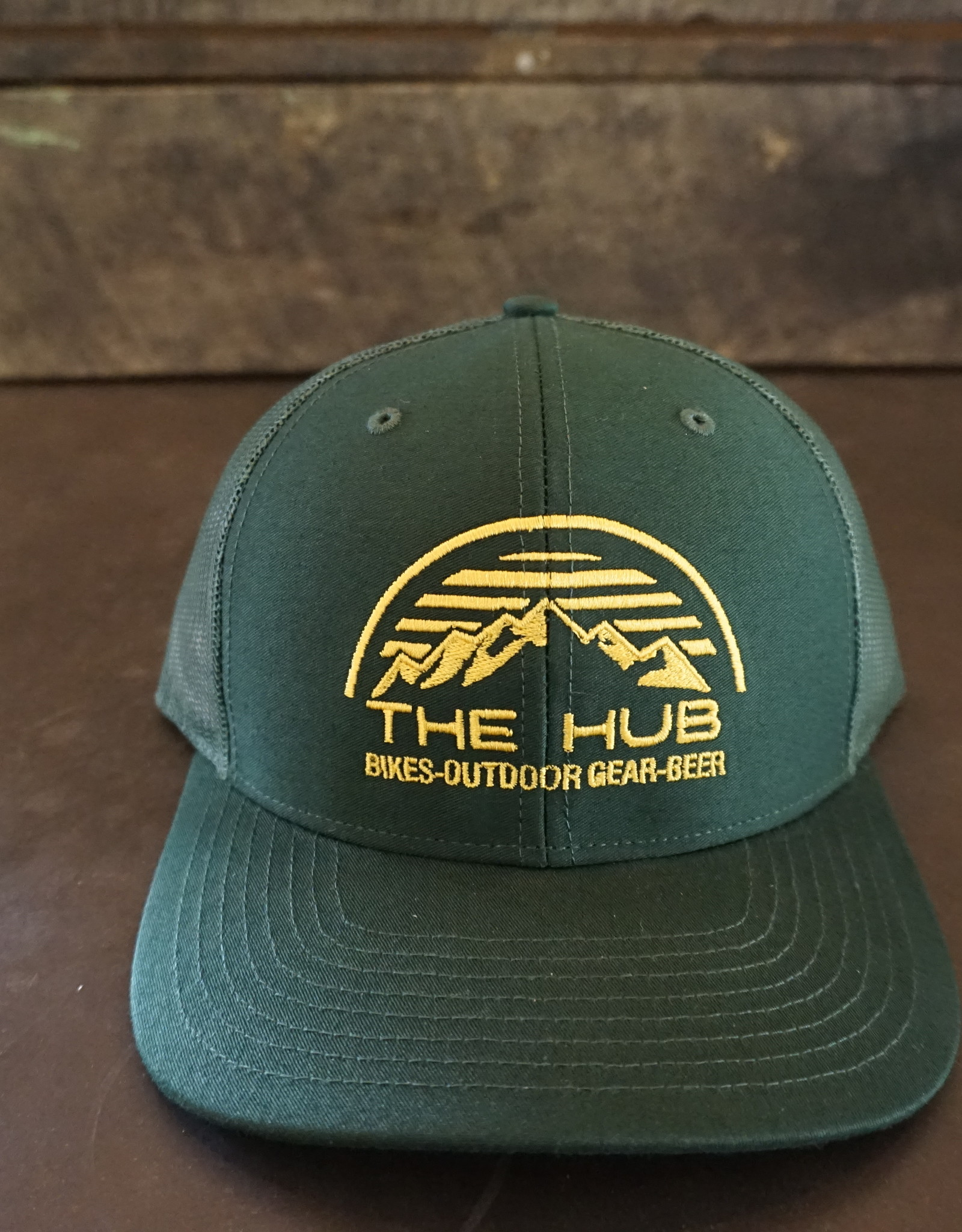 The Hub 112 Hub Dome Logo Embroidery -