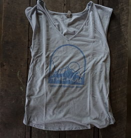 The Hub W Hub Night Sky Muscle Vneck Tank -