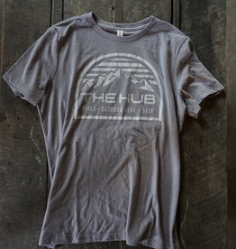 The Hub W Hub Dome Triblend Crew S/S