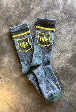 DeFeet Size Large PNF Loden Wool Sock