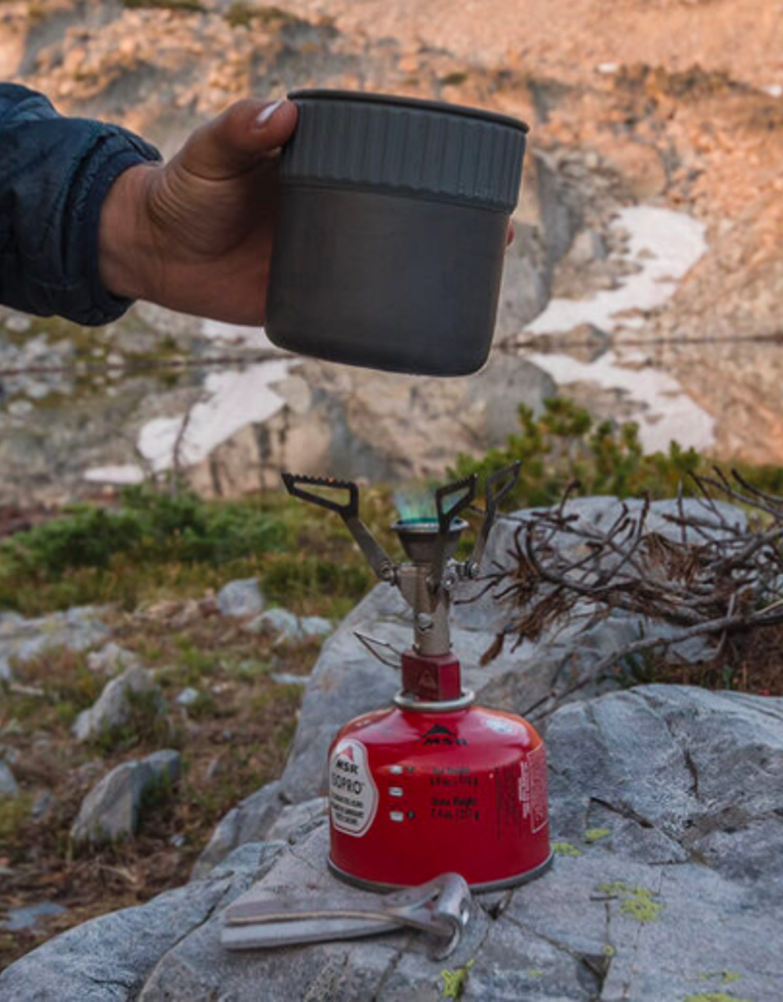 MSR Trail Mini Solo Cook Set - .8 Liter