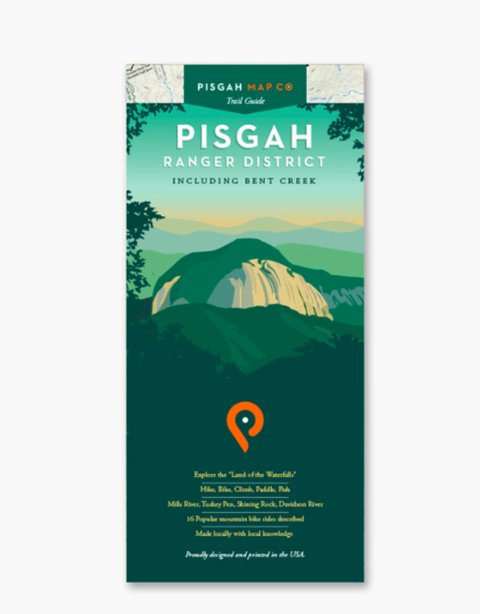 WNC Trail Guide Pisgah Ranger District Map