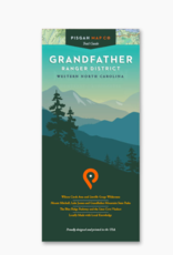 WNC Trail Guide Grandfather Ranger District Map