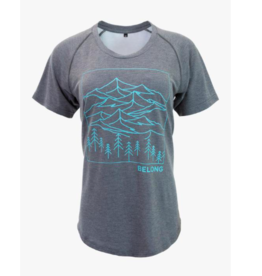 Belong Designs W Ridge Runner Tek Tee