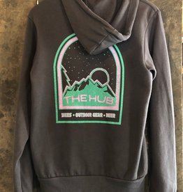 The Hub Hub Night Sky Full Zip Hoodie