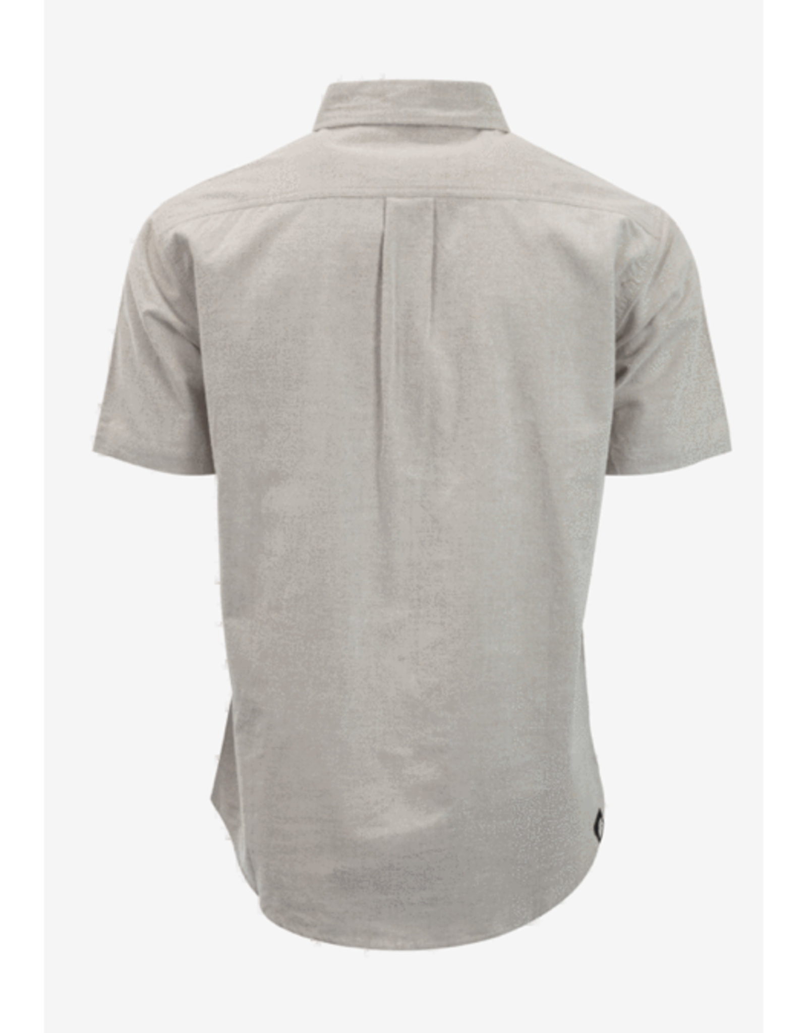 M Lee's Way Woven Button Down