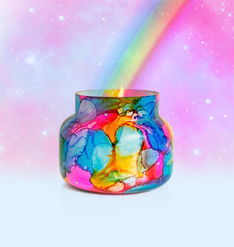 Capri-Blue Rainbow Watercolor Signature Jar
