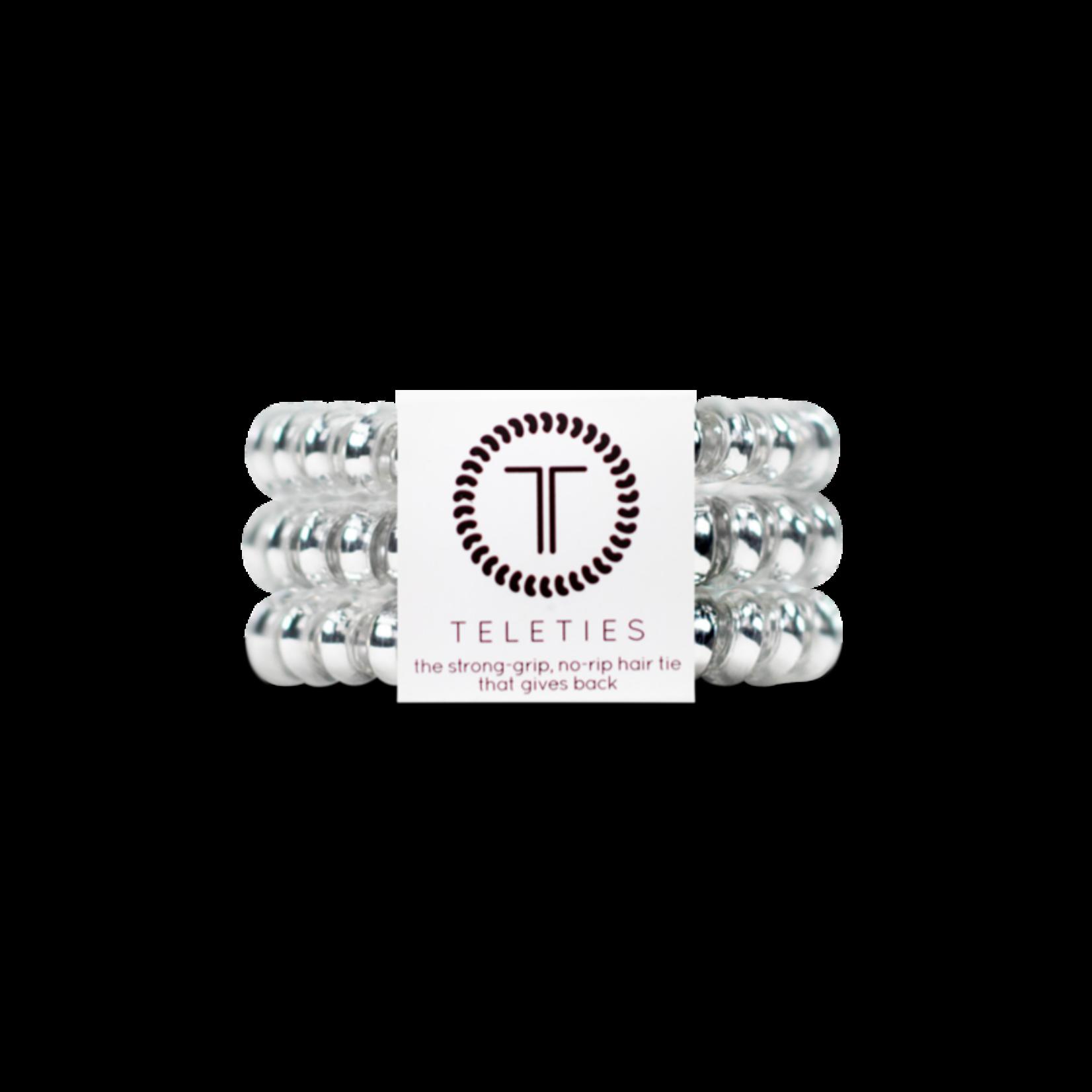 TELETIES Electric Silver 3-pack