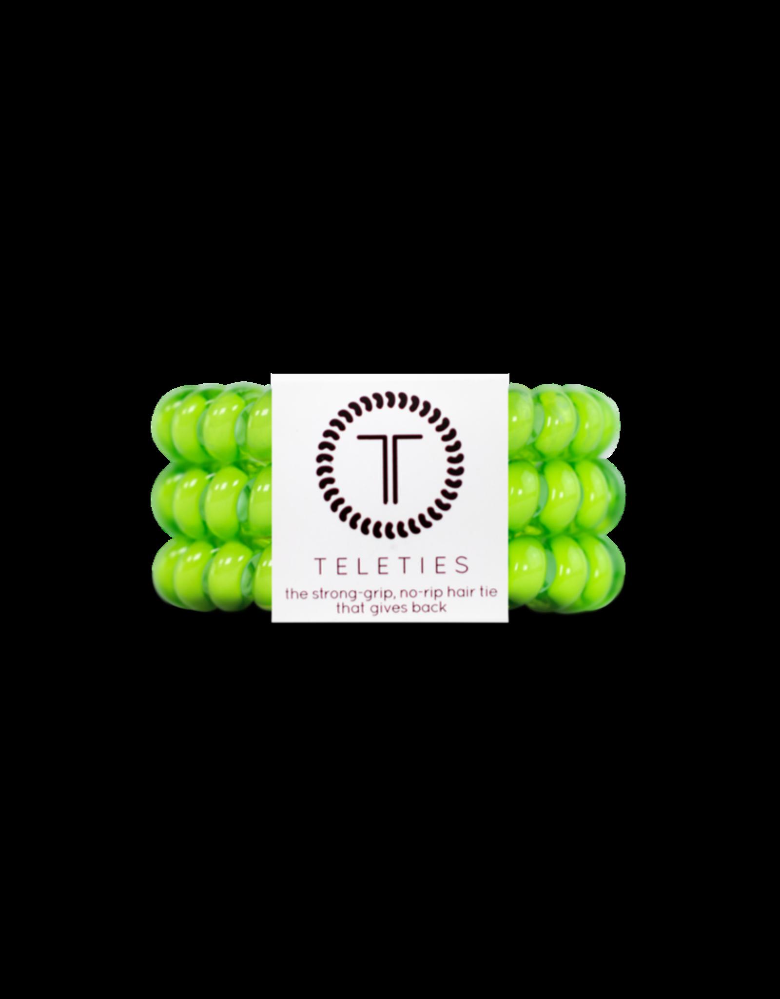 TELETIES Lime 3-pack