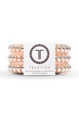 TELETIES Millennial Pink 3-pack