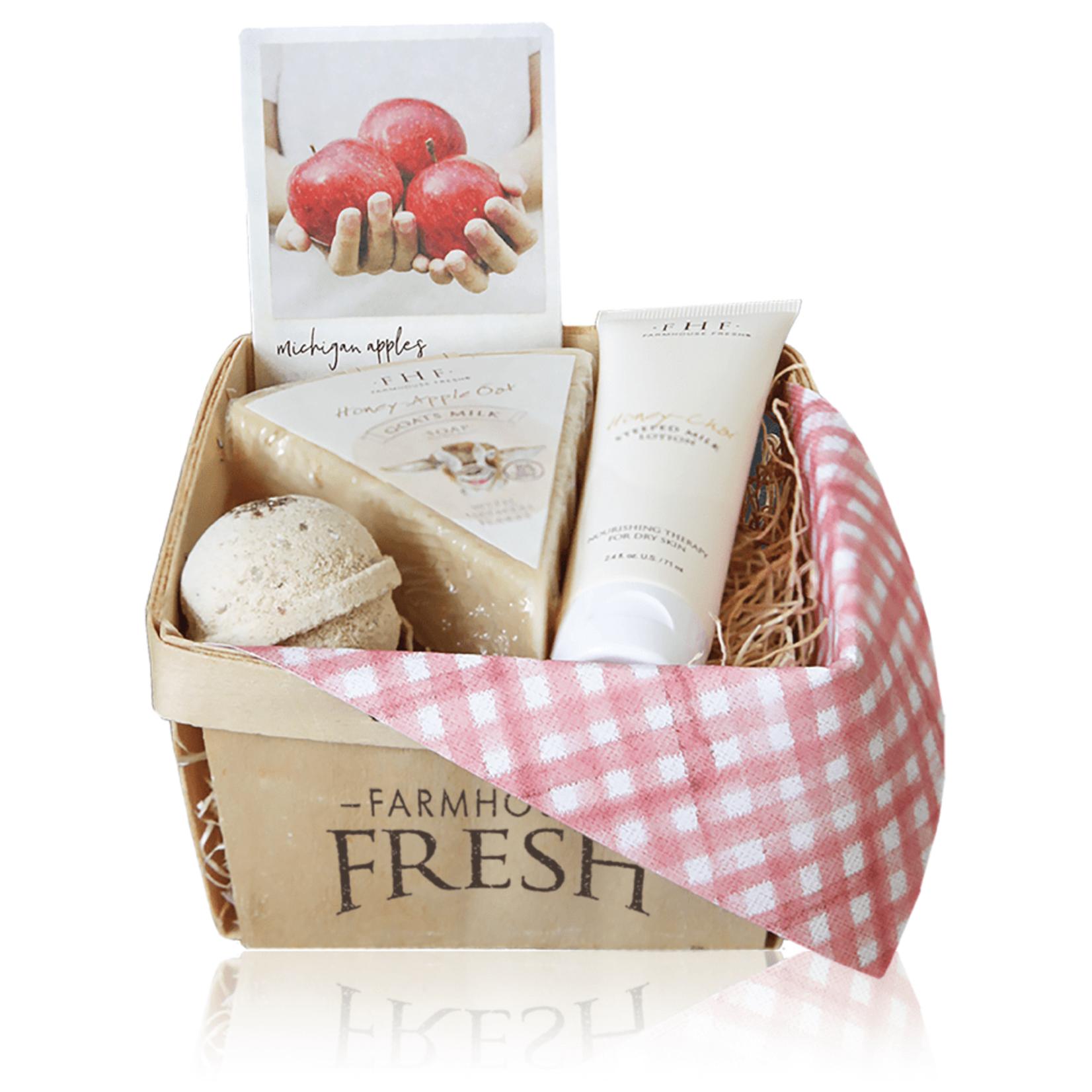 Farmhouse Fresh Apple Harvest Gift Basket
